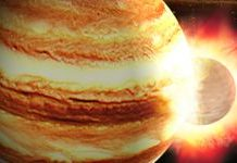 A little asteroid makes a substantial flash slamming into Jupiter