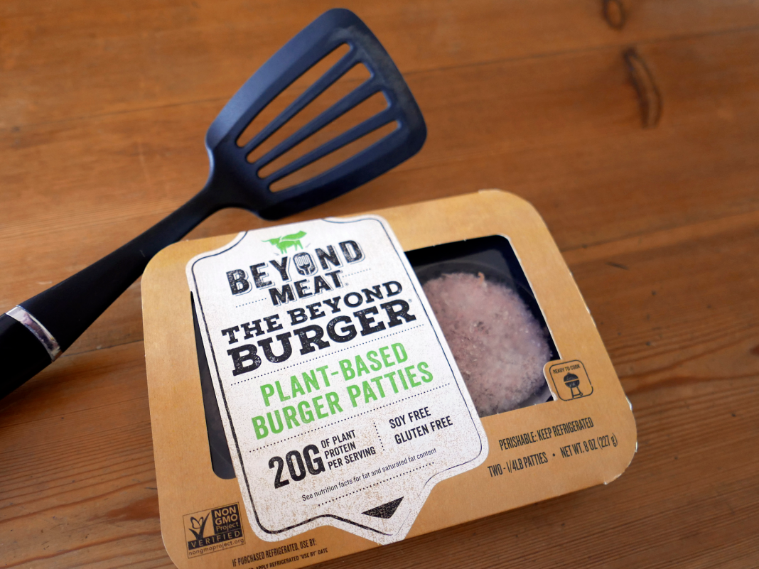 Beyond Meat's chairman jokes that the veggie hamburger was a 'conspiracy' by the meat market to avoid individuals from going vegetarian (BYND)