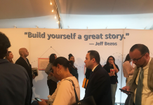 Task candidates who came out to Amazon Profession Day expose why they braved long, 'haphazard' lines and a congested camping tent to become aware of operating at the e-commerce giant