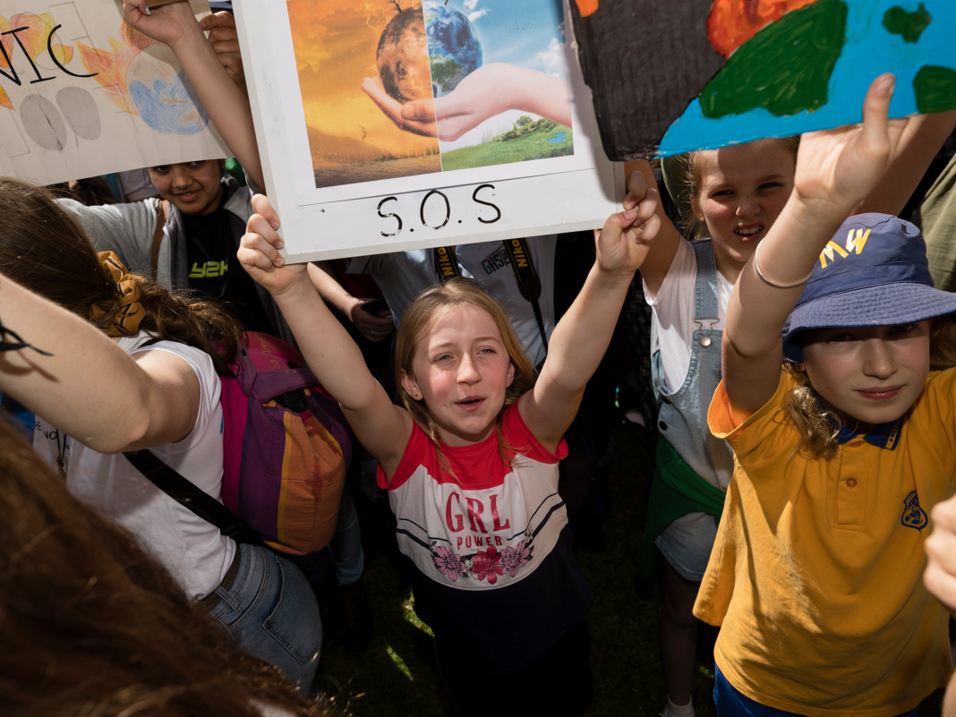 Australians rally as the world prepares for what might be the biggest environment demonstration in history