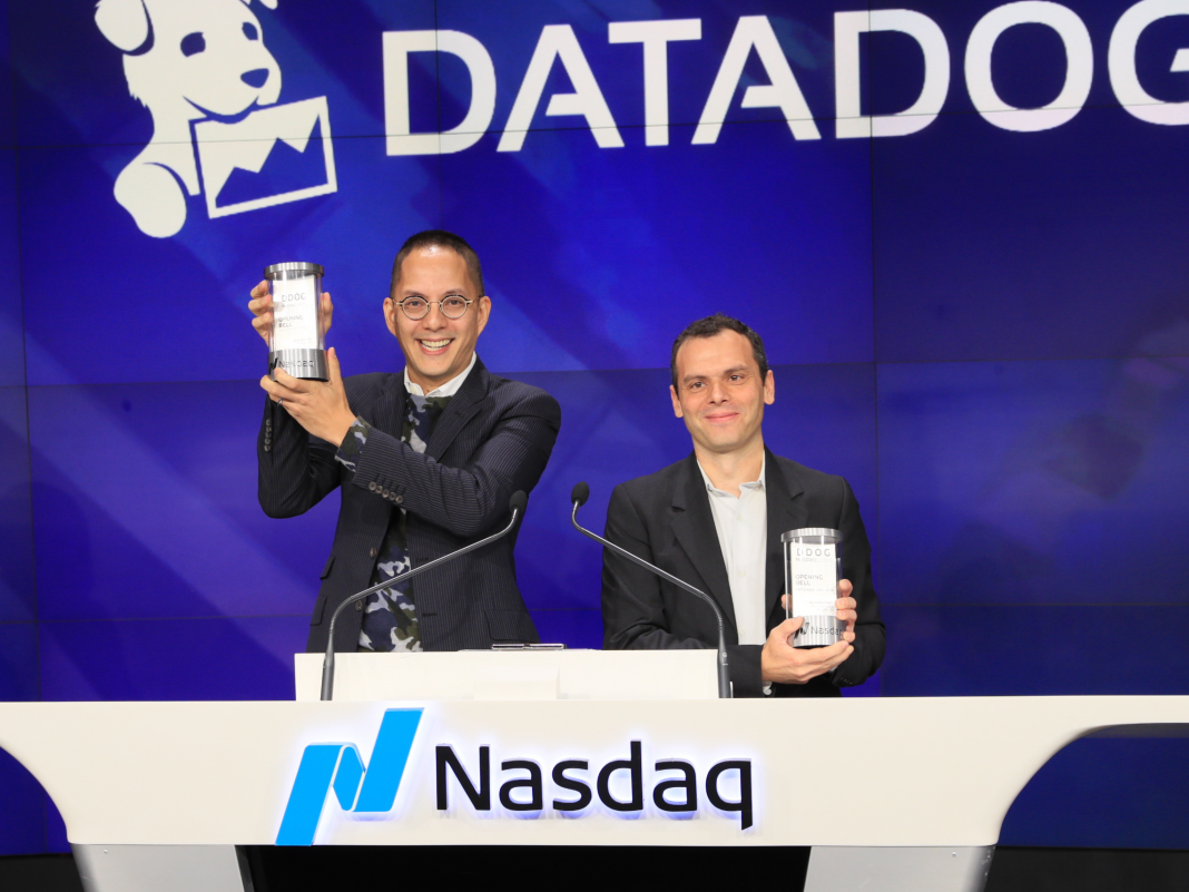 Information analytics business Datadog skyrocketed 39% on its very first day of public trading. The CEO states its next huge thing is employing: 'I invest my days ensuring we work with individuals well.' (DDOG)