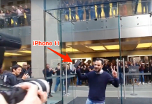 A complicated viral video reveals Apple staff members in a standing ovation after guy purchases iPhone 11