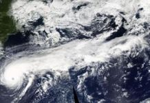 Hurricane Humberto reveals off titanic 'tail' in NASA picture