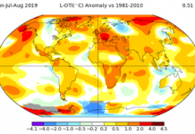 Earth might remain in its most popular five-year duration ever tape-recorded