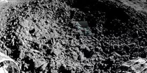 China's lunar rover analyzes 'weird compound' discovered in moon crater