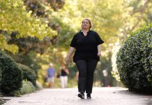 Working Out To Relieve Discomfort: Taking Vigorous Walks Can Assist