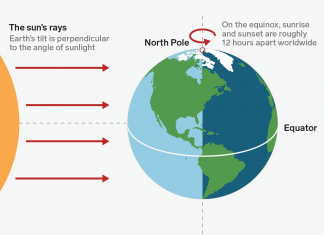 The very first day of fall has actually shown up. Here's how the equinox marks the altering of seasons.