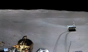 China's Chang'e Four lander lastly will get an official location on the moon
