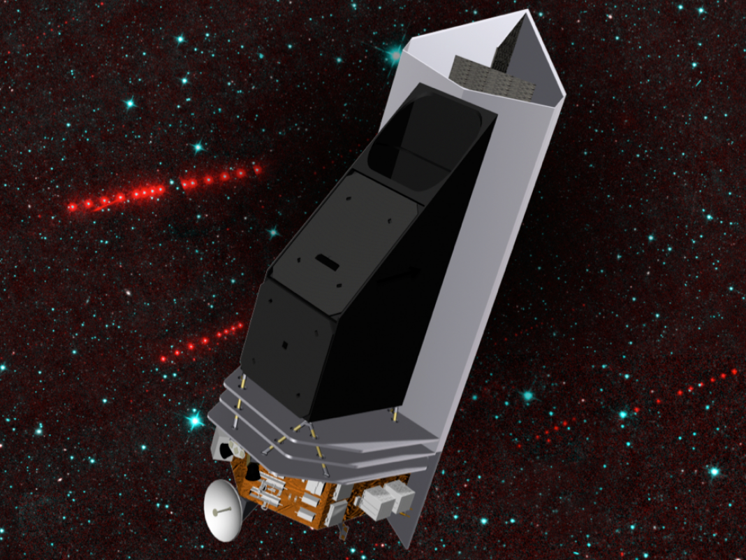 NASA is lastly preparing to introduce an area telescope to find fatal asteroids prior to they strike Earth. Here's how it might work.