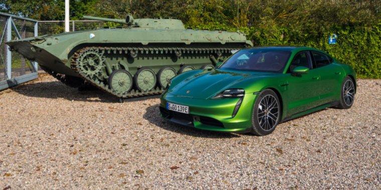 The Porsche Taycan– every bit as great as a $200,000 Porsche must be