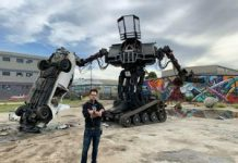 Now's your probability to purchase an enormous Megabots battle mech
