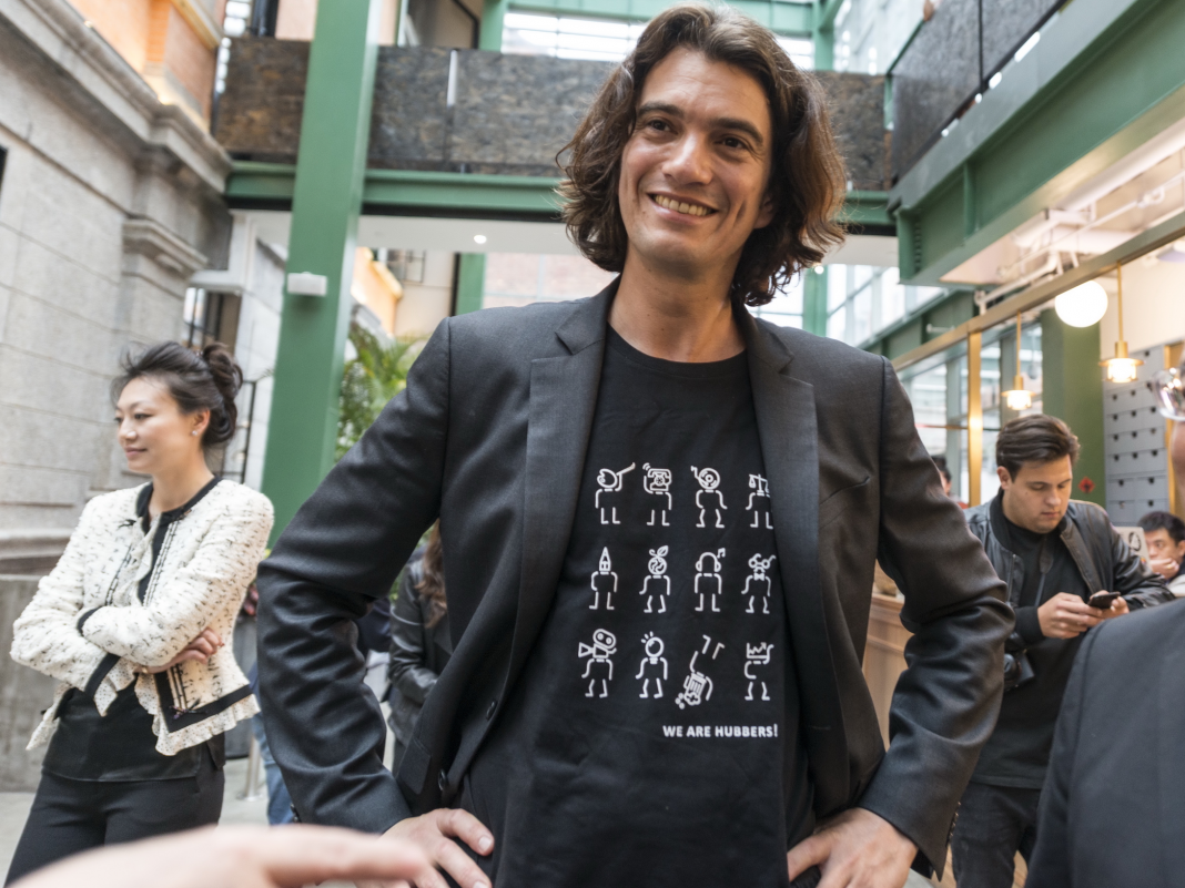 Some WeWork staff members are now stressed that they have a 'black mark' on their resumes