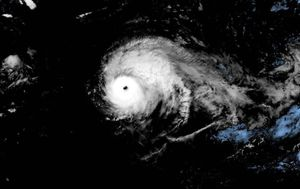 Typhoon Lorenzo set a sly record over the weekend