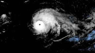 Cyclone Lorenzo struck classification 5 further east than any other storm
