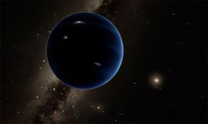 The covert world in our planetary system might be a primitive great void