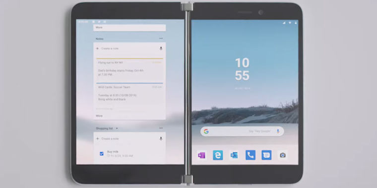 The Surface area Phone is genuine! Microsoft surprises with a dual-screen Android phone