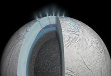 Saturn's ice moon is spewing natural compounds that would precede life