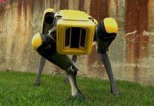 Boston Characteristics Area robotic is prepared to leave the nest video