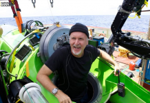 Why James Cameron is arguing with a fellow millionaire about who dove to the inmost point in the ocean