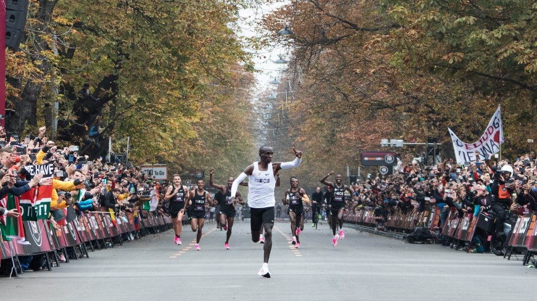 Eliud Kipchoge Dashes Past 2-Hour Marathon Barrier In Assisted Occasion