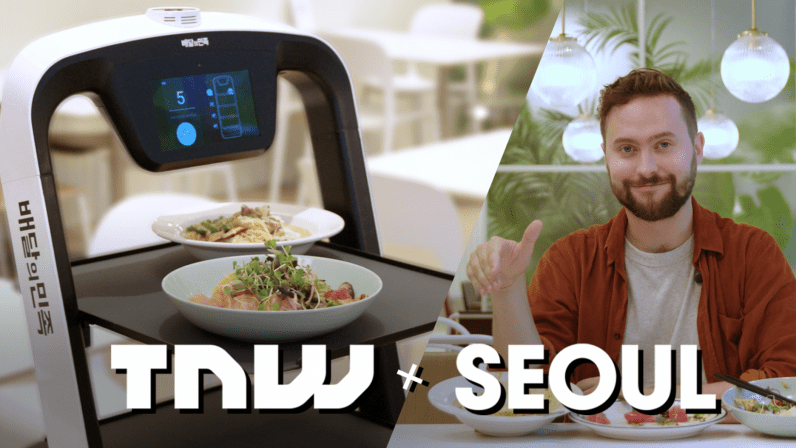 Video: Check out Seoul's cool start-up kitchen areas– plus a robotic dining establishment!