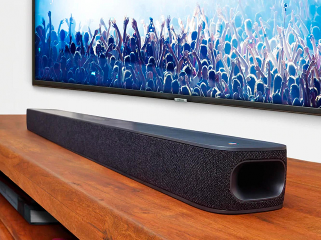 The JBL Link Bar is a fast and simple option for including smarts and much better noise to a dumb TELEVISION