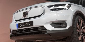 "Volvo's XC40 crossover goes totally battery electrical for ""under $48,000"""