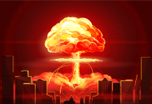 An animated video from the Red Cross reveals a city getting nuked, and it's a scary take a look at what takes place when the federal government can't conserve you