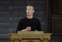 Facebook's billionaire CEO Mark Zuckerberg attended to dangers to totally free speech in an uncommon public address on Thursday (FB)