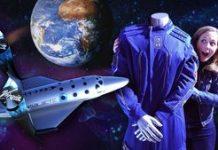 Virgin Stellar spacesuit's concealed functions video