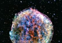 A star died and this weird house blob was born