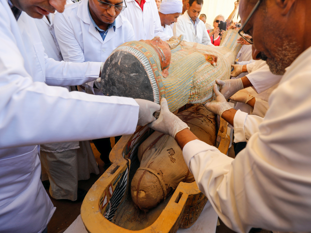 Archaeologists found 30 ancient sarcophagi in Egypt with completely maintained mummies inside. Pictures reveal the greatest casket discover in a century.
