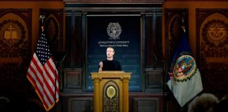 Zuckerberg doubles down on totally free speech– the Facebook method
