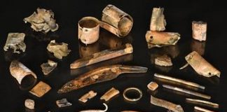 Archaeologists uncover a Bronze Age warrior's individual toolkit
