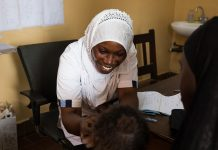 A Gambian Nurse Battles Discomfort Without Tablets