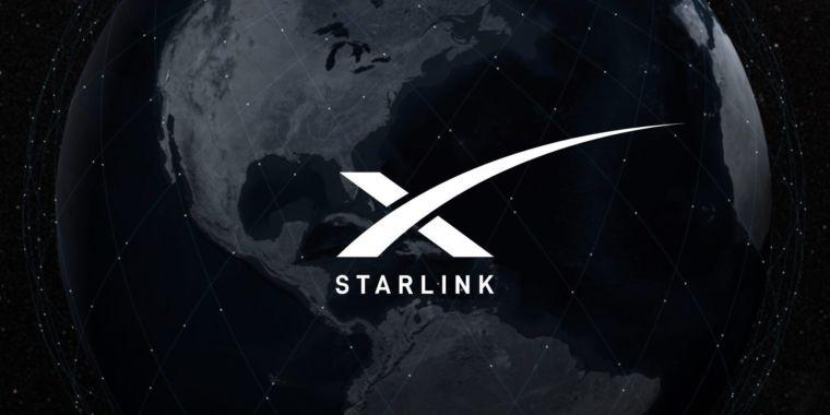 Elon Musk sends out tweet through SpaceX's Starlink satellite broadband