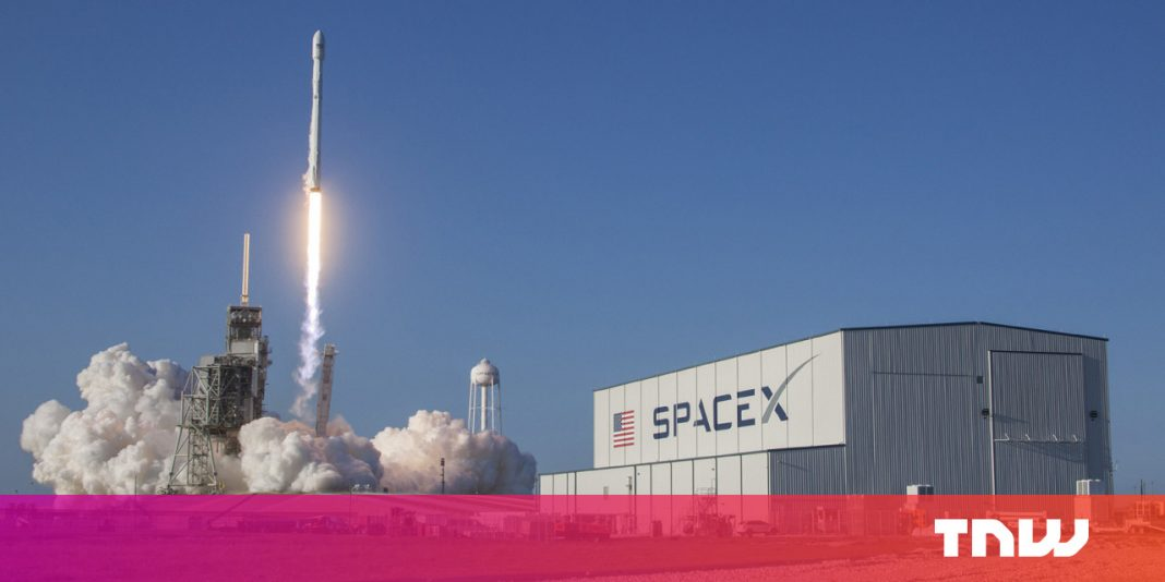 SpaceX intends to offer customers broadband through Starlink by next year