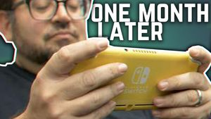 What the Nintendo Change Lite resembles after a month of usage (The Daily Charge, 10/23/2019) video