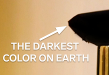The darkest color on the planet is darker than Vantablack