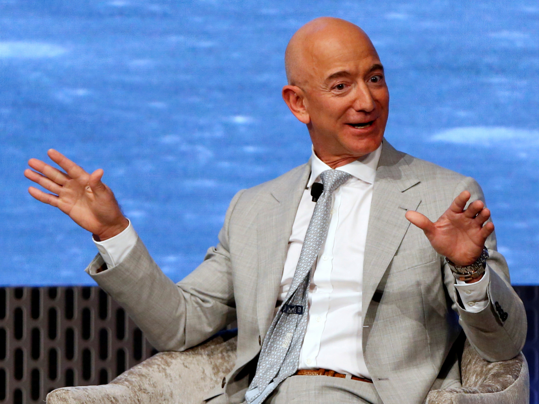 Amazon CEO Jeff Bezos promotes a 'counterintiutive' advantage of faster shipping as expenses skyrocket