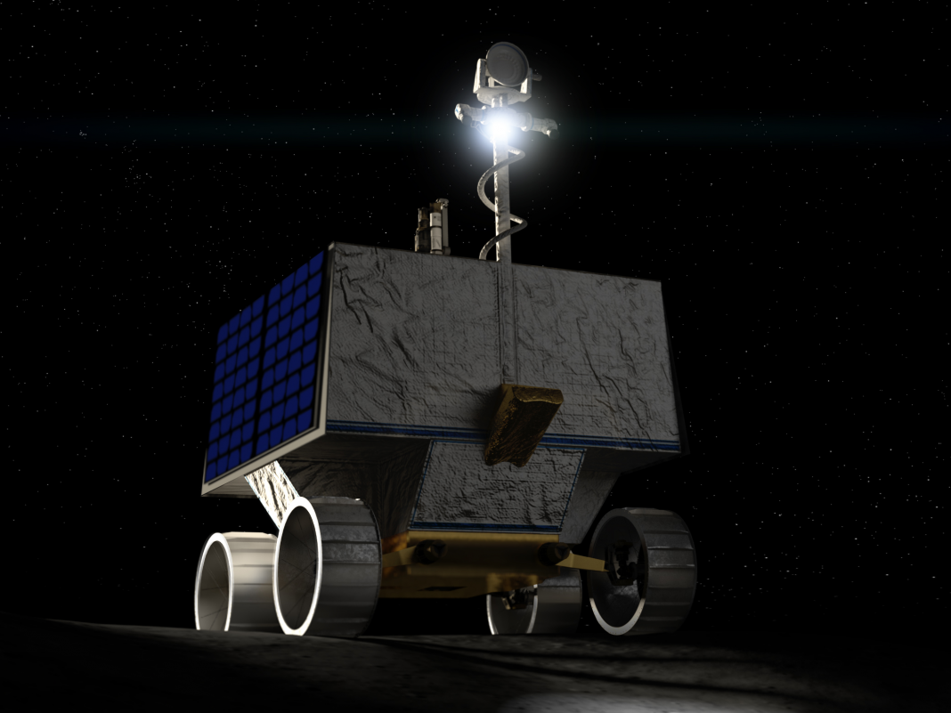 NASA is sending out a brand-new moon rover to sample water ice on the lunar south pole