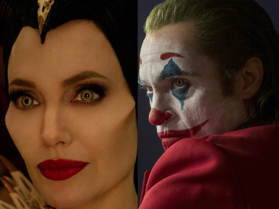 'Joker' beats 'Maleficent' follow up in dead heat weekend ticket office match-up