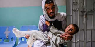 For Afghan Health Employees, an Onslaught of Making Do