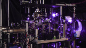 Catching atoms in a laser beam provides a brand-new method to determine gravity