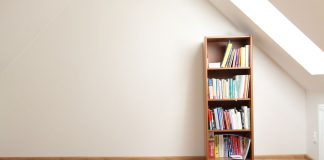 Turn Your Old Bookcase Into a Sensory Activity Center