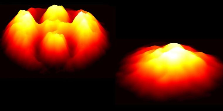 Physicists catch very first video footage of quantum knots unraveling in superfluid