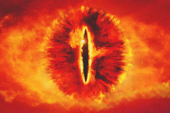Uncommon hereditary condition provides male Eye of Sauron appearance