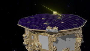 Area dust knocked into an ESA spacecraft at 40,000 miles per hour, however that's a good idea