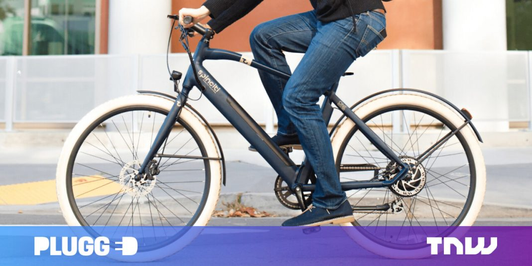The Spinciti Amsterdam is an elegant e-bike that will not spend a lot