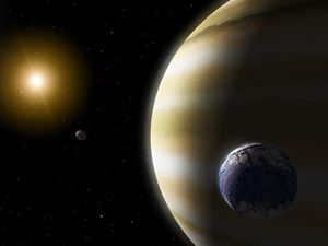 Weird, huge exoplanet might be the very best location to search for habitable exomoons
